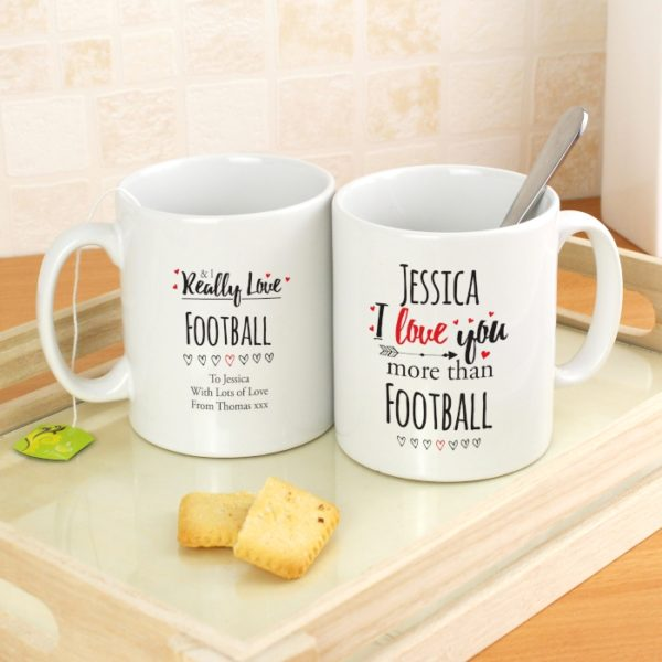 Personalised I Love You More Than... Mug