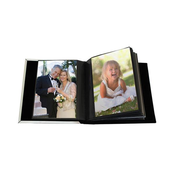 Personalised Decorative Silver Anniversary Photo Frame Album 4x6