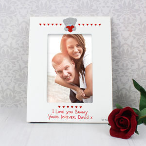 Personalised Me to You Big Heart 4x6 Photo Frame